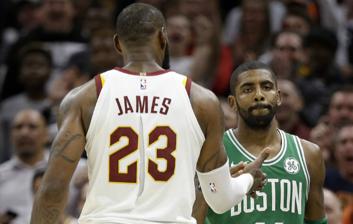 0a85049f1 Lebron James Reunites with Kyrie Irving for the 2017-2018 NBA All-Stars