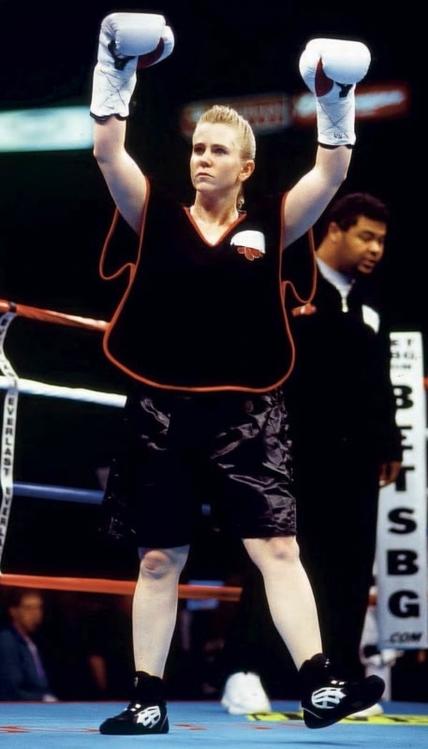 tonya harding boxing career