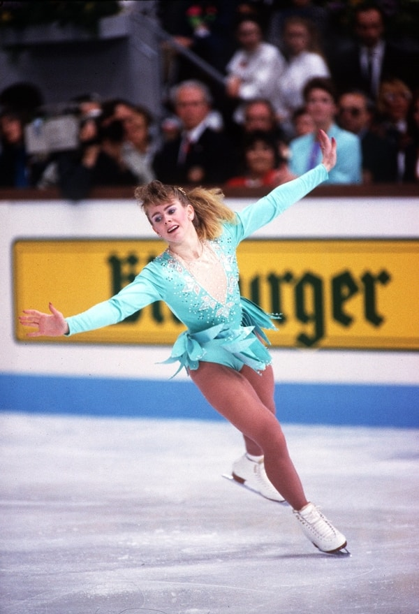 tonya harding 1991 world figure skating chamionships triple axel record