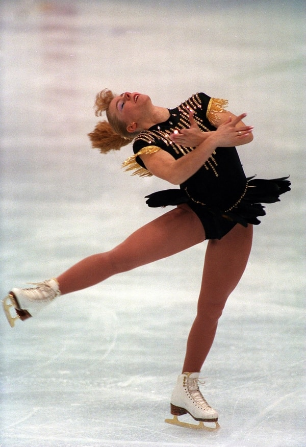 tonya harding life 1991 gold medal Skate America competition