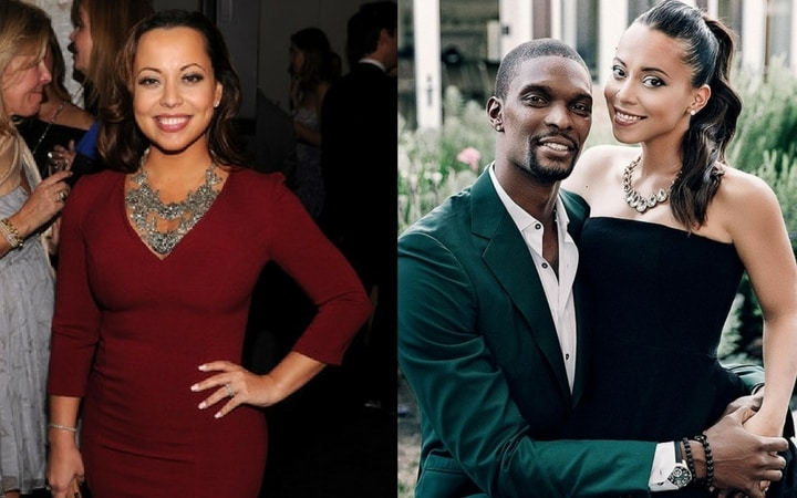 nba wives adrienne williams chris bosh