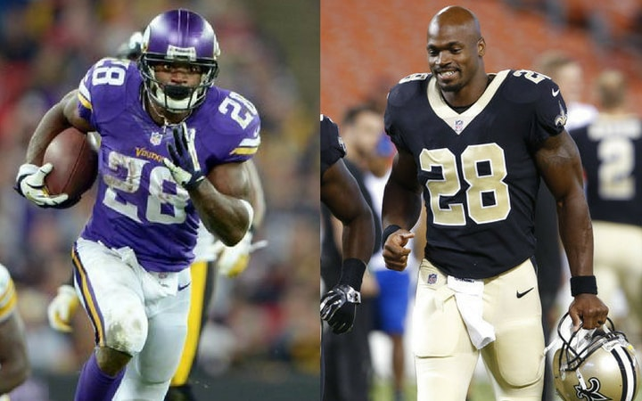 adrian peterson vikings saints shocking sports trades