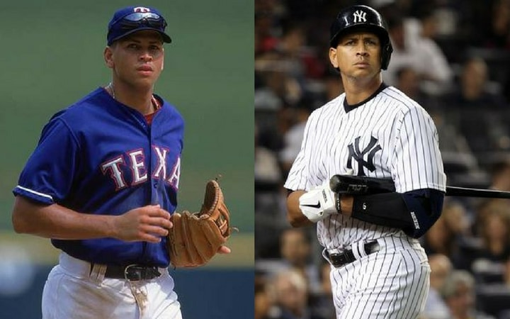 alex rodriguez shocking sports trades rangers yankees