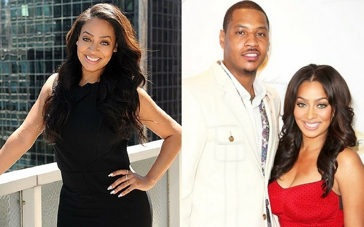 la la anthony carmelo anthony