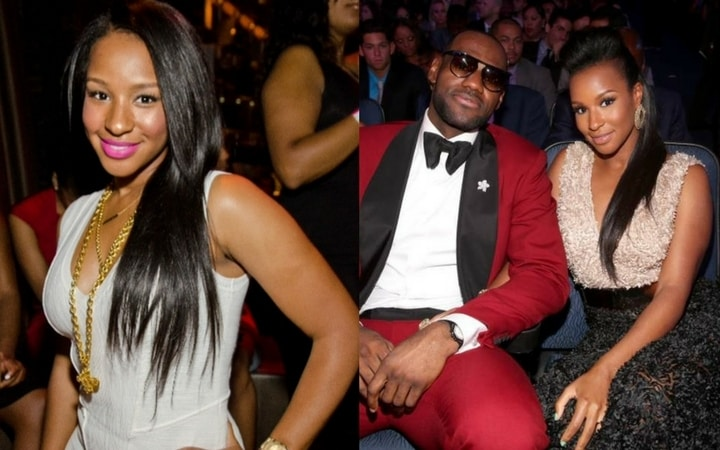 nba wags Savannah Brinson lebron james