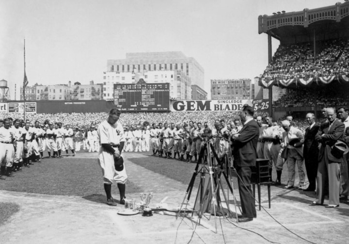 inspiring sports moments lou gehrig