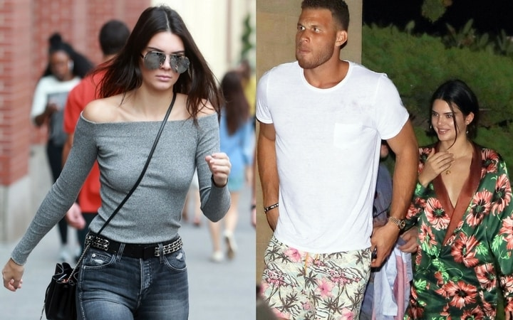 nba wags kendall jenner blake griffin