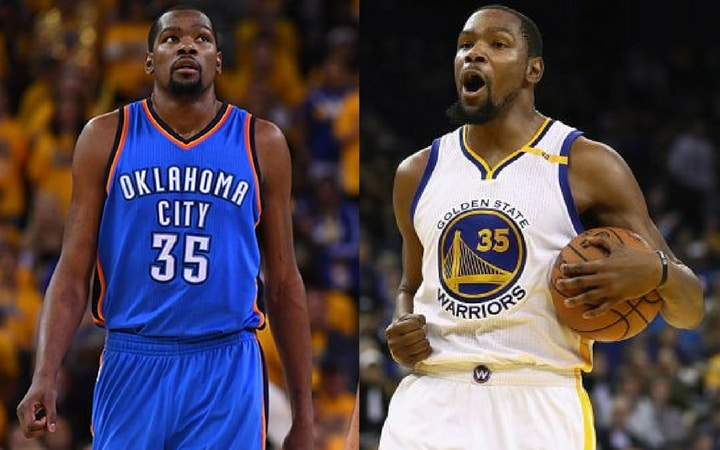 kevin durant shocking trades okc to gsw