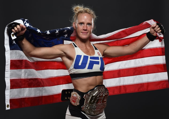 female mma athlete holly holm