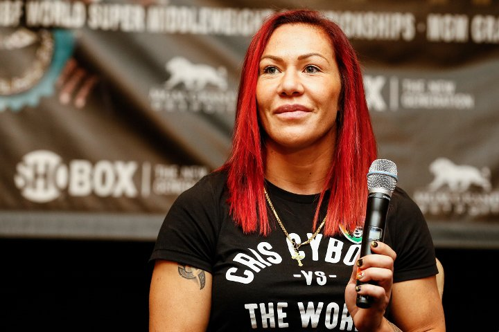 female athletes cris cyborg mma ufc