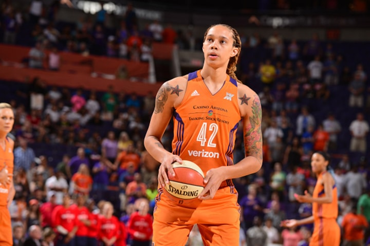 brittney griner basketball female athletes
