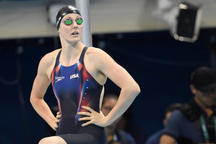 swimmer Missy Franklin female athletes