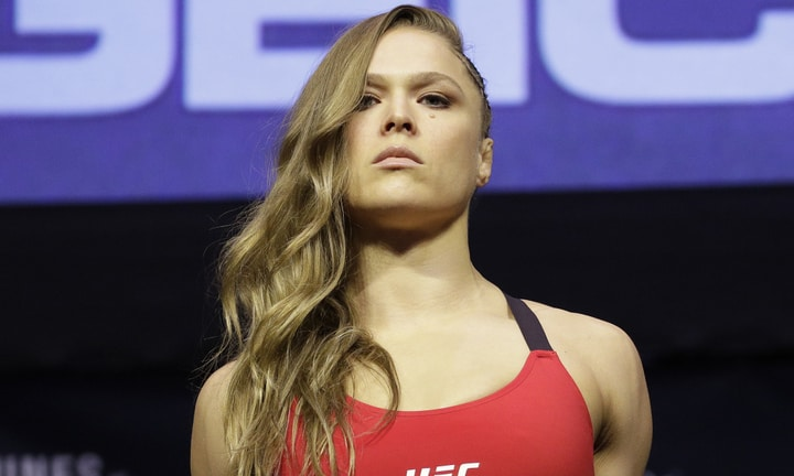 female athletes ronda rousey mma and wwe
