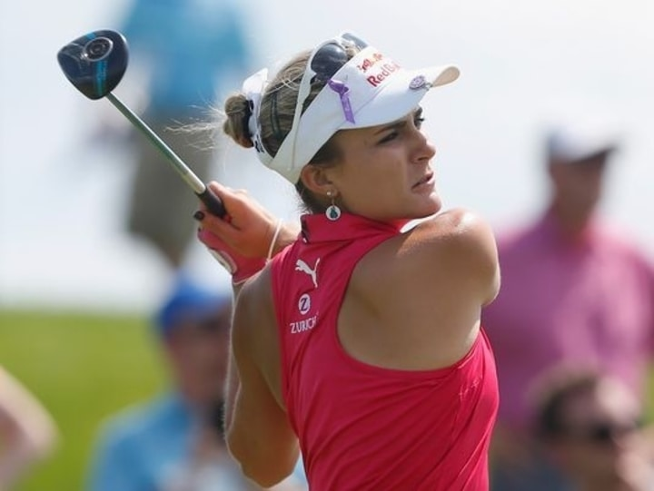 lexi thompson female athlete golf